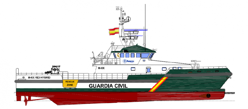 PATROL BOAT FOR GUARDIA CIVIL