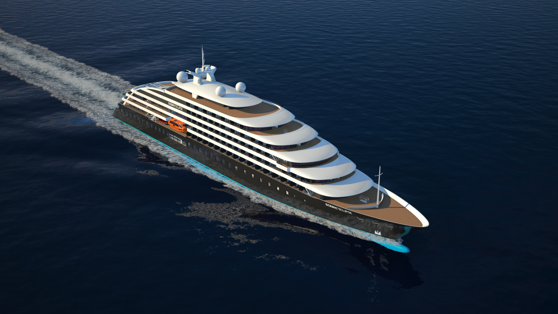 Scenic Eclipse Naval Architecture Interior Design Accommodation Outfitting
