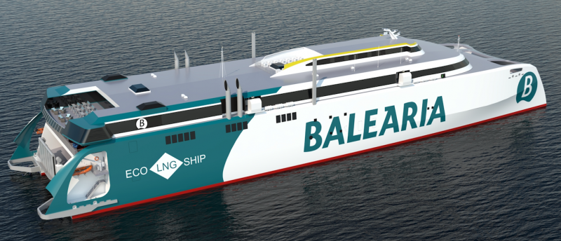NEW FAST FERRY FOR BALEARIA
